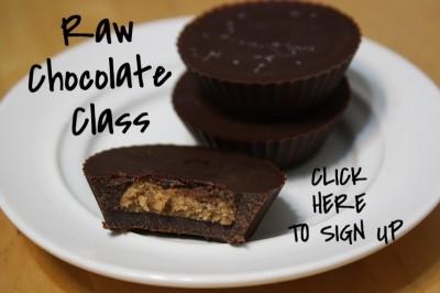 Raw Chocolate Class