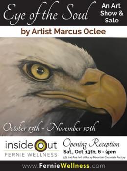Marcus Oclee Art Show