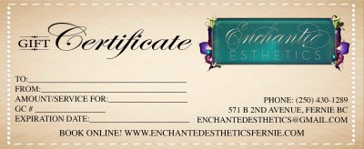Enchanted Gift Certificate (2)
