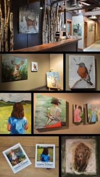 Inside Out Fernie Wellness Art Show Leanne Stothert