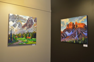 Stephanie Gauvin Art at Inside Out Fernie Wellness