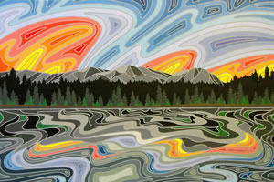 Summer Breeze, Elkford Artist