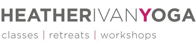 Heather Ivany yoga logo