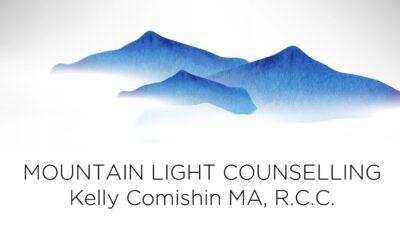 Kelly Comishin, MA RCC logo
