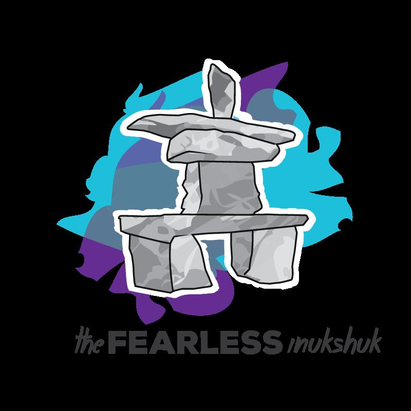 The Fearless Inukshuk logo